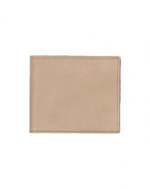 Бумажник MAISON MARGIELA. Цвет: песочный