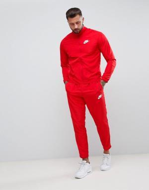 Nike Красный спортивный костюм 861778-657. Цвет: красный