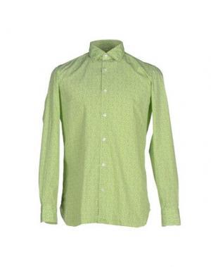 Pубашка GIAMPAOLO. Цвет: кислотно-зеленый