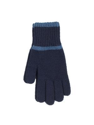 Перчатки Веселый ветер. Цвет: синий