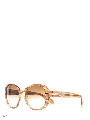 Солнцезащитные очки VW 905S 02 Vivienne Westwood. Цвет: коричневый
