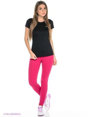 Брюки Club Tight Pants Nike. Цвет: фуксия