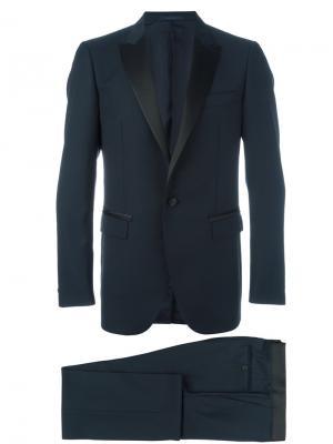 Классический костюм Lanvin. Цвет: синий
