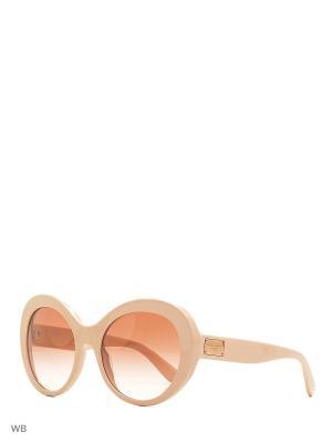 Очки солнцезащитные DOLCE & GABBANA. Цвет: розовый