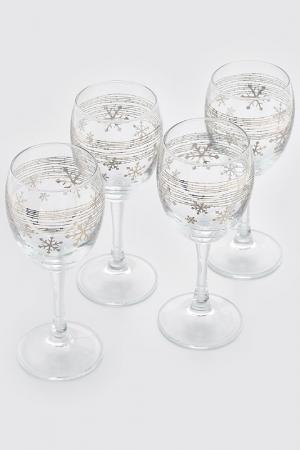 Набор бокалов, 4 шт Pasabahce. Цвет: мультицвет