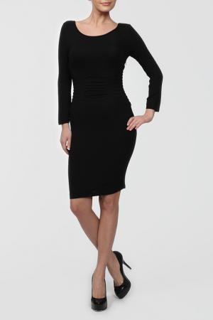 Платье джерси Catherine Malandrino. Цвет: черный