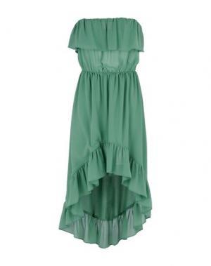 Короткое платье TOY G.. Цвет: светло-зеленый