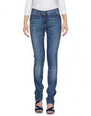 Джинсовые брюки HEAVEN TWO. Цвет: синий
