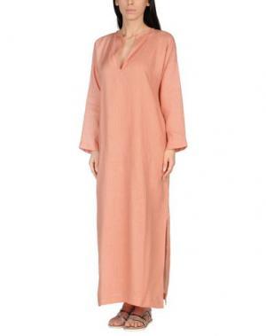 Пляжное платье SIYU. Цвет: оранжевый