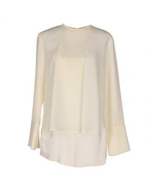 Блузка TROU AUX BICHES. Цвет: слоновая кость