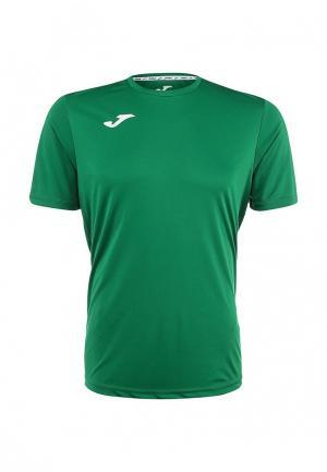 Футболка спортивная Joma. Цвет: зеленый
