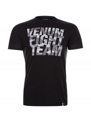 Футболка Venum Speed Camo Urban Tee Black. Цвет: черный