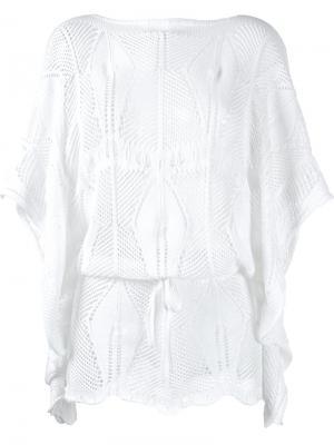 Knit blouse Cecilia Prado. Цвет: белый