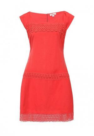 Платье Indiano Natural. Цвет: коралловый