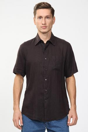 Рубашка Fiume. Цвет: коричневый