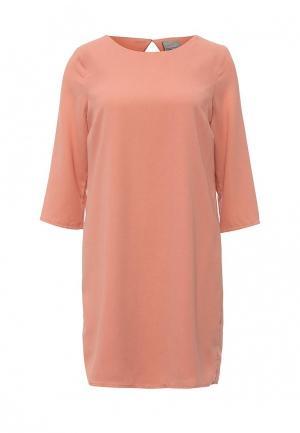 Платье Vero Moda. Цвет: коралловый