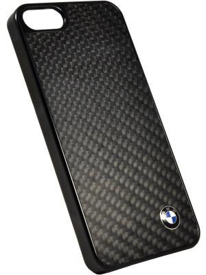 Чехол BMW для iPhone 5S/SE Signature Hard Real Carbon. Цвет: черный