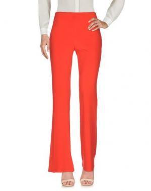 Повседневные брюки EDAS. Цвет: красный