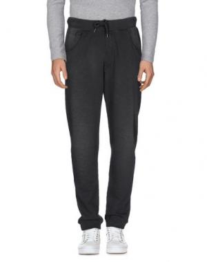 Повседневные брюки BOWERY. Цвет: стальной серый