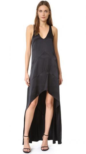 Вечернее платье без рукавов Narciso Rodriguez. Цвет: голубой