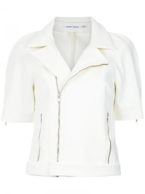 Double tech perfect jacket Gloria Coelho. Цвет: белый