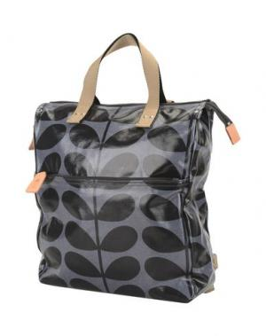 Рюкзаки и сумки на пояс ORLA KIELY. Цвет: стальной серый