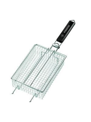 Решетка-сетка для мелких кусочков Forester. Цвет: серебристый