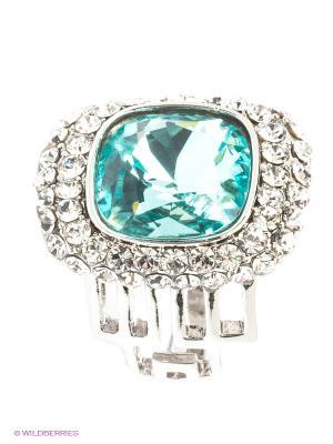Кольцо Bijoux Land. Цвет: серебристый, голубой