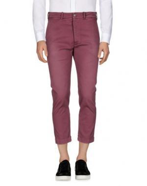 Повседневные брюки (+) PEOPLE. Цвет: пурпурный