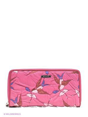 Кошелек Bullatti. Цвет: розовый