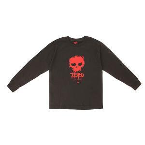 Лонгслив детский  Skull Black Zero. Цвет: черный