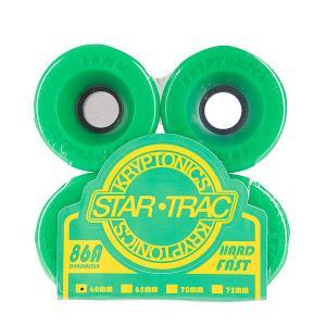 Колеса для скейтборда лонгборда  Star Trac Premium Green 86A 60mm Kryptonics. Цвет: зеленый