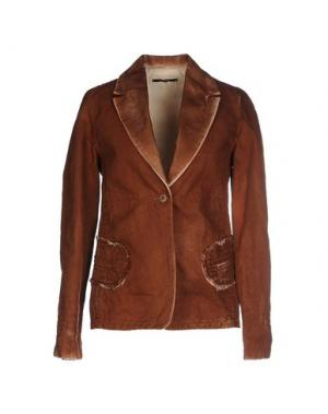 Пиджак JO NO FUI. Цвет: коричневый