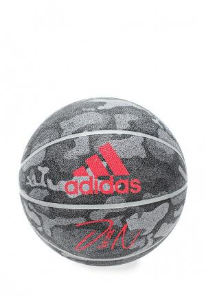 Мяч баскетбольный adidas Performance. Цвет: серый
