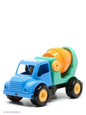 Грузовок-цементовоз Battat. Цвет: синий, оранжевый