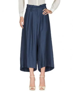Повседневные брюки SOUVENIR. Цвет: грифельно-синий