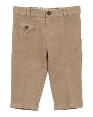 Повседневные брюки BABY GRAZIELLA. Цвет: песочный