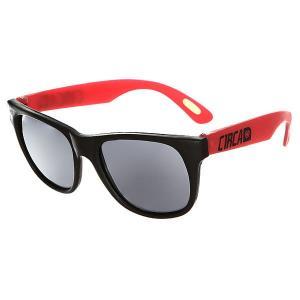 Очки  Pop201 Sunglasses Black/Red Circa. Цвет: черный,красный