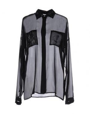 Pубашка WALTER VOULAZ. Цвет: черный