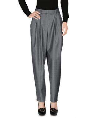 Повседневные брюки DIOR. Цвет: серый