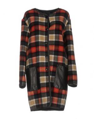 Пальто ROŸ ROGER'S. Цвет: черный