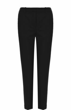 Укороченные шерстяные брюки со стрелками 3.1 Phillip Lim. Цвет: черный