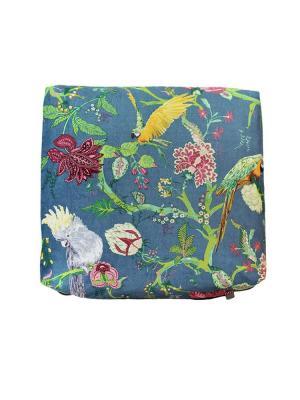Декоративная подушка Жакко с темно-серым компаньоном LACCOM. Цвет: желтый, темно-зеленый