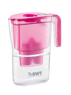 Фильтр-кувшин BWT Vida розовый. Цвет: розовый