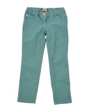 Повседневные брюки MINIFIX. Цвет: светло-зеленый