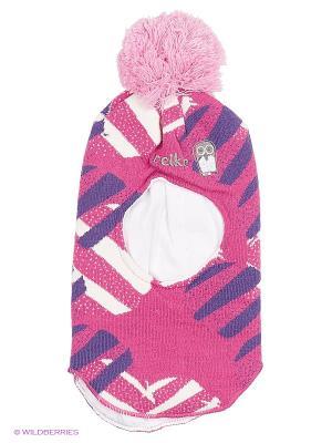 Шапка - шлем REIKE. Цвет: розовый