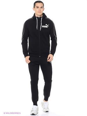 Костюм спортивный  STYLE BEST Suit SWEAT Puma. Цвет: черный