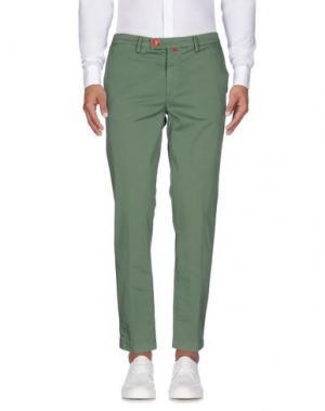 Повседневные брюки BARONIO. Цвет: зеленый