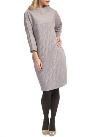 Платье TOK. Цвет: серый