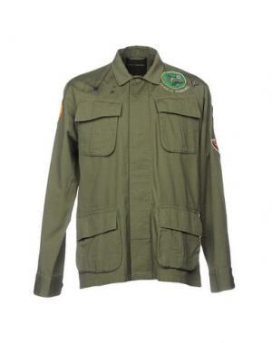 Куртка DEUS EX MACHINA. Цвет: зеленый-милитари